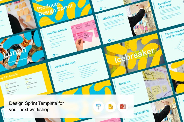 Thumbnail for Design Sprint workshop template