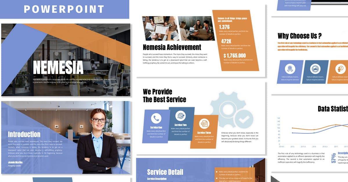 Download Nemesia - Business Powerpoint Template by Blesstudio