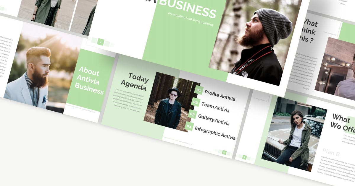 Download Antivia - Keynote Template by Macademia
