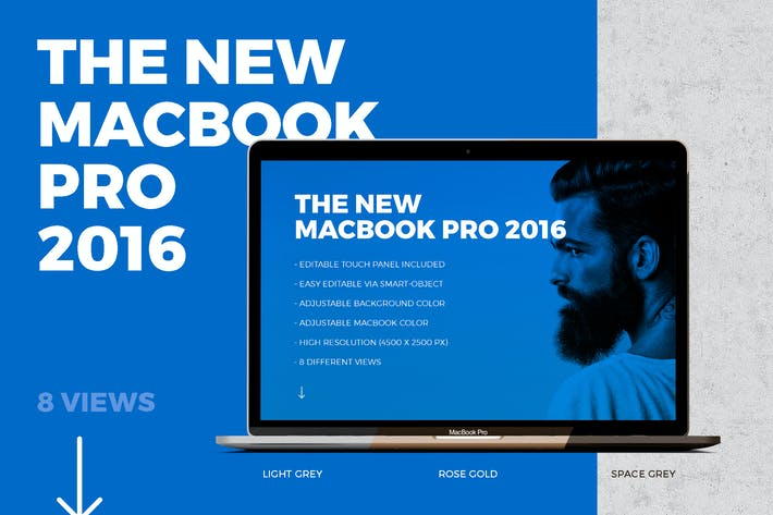 Thumbnail for New Macbook Pro 2016 with Touch Panel