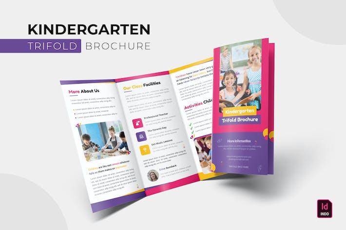 Thumbnail for Kindergarten | Trifold Brochure
