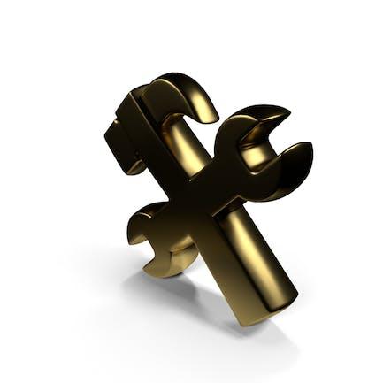 Symbol zur Reparatur des Arbeitsfortschritts
