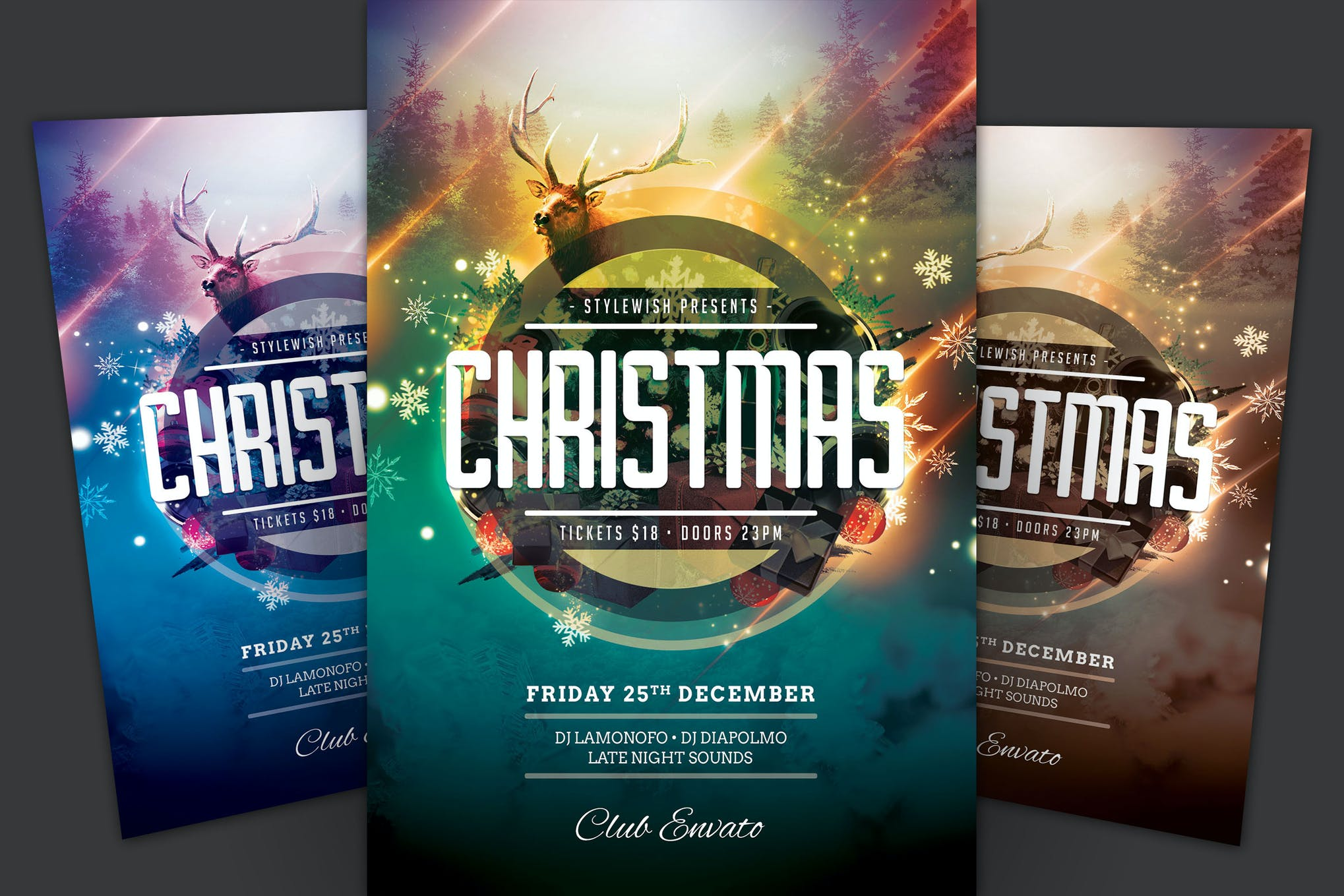 Christmas Flyer.Christmas Flyer By Stylewish On Envato Elements
