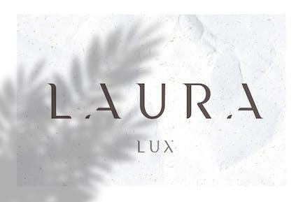 Laura - Una fuente de lujo mínima