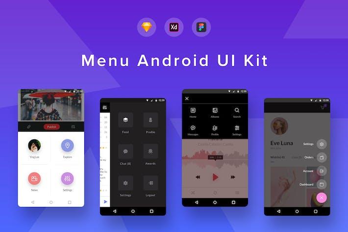Menu Android UI Kit