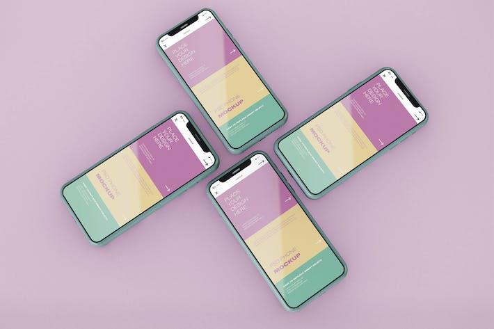 Thumbnail for Smartphone-Bildschirm-Mockup