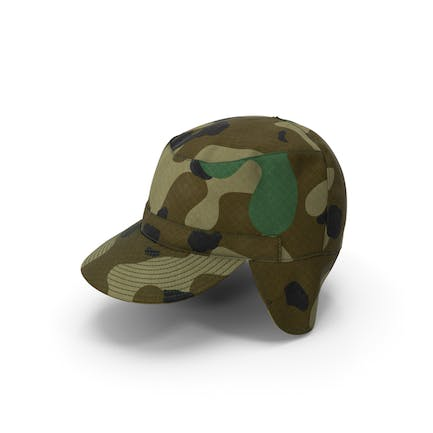 Camo Field Cap with Earflaps