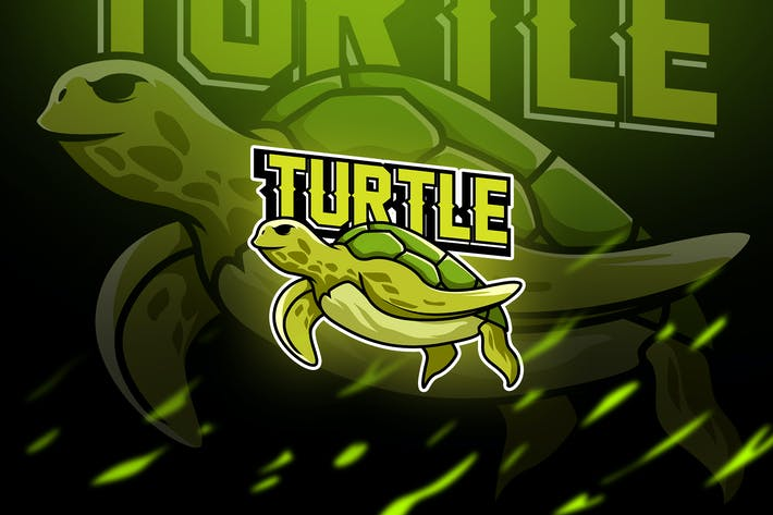 Thumbnail for turtle - Mascot & Esport Logo