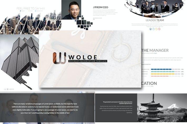 Thumbnail for Woloe - Keynote Template