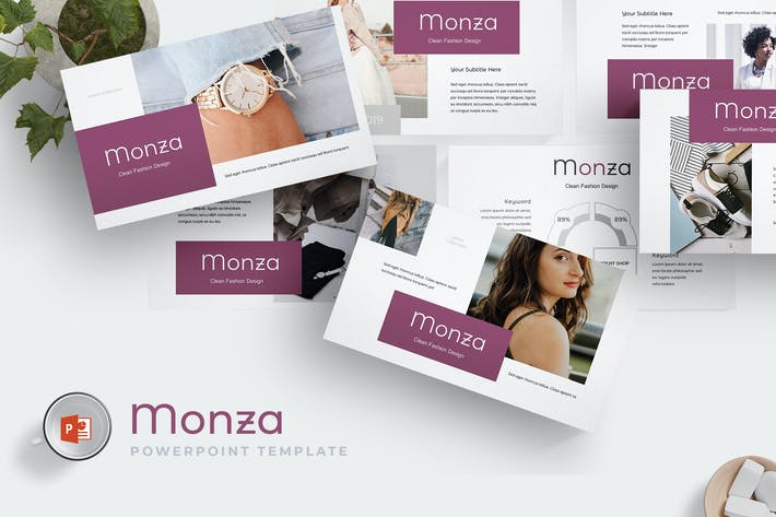 Thumbnail for Monza - Powerpoint Template