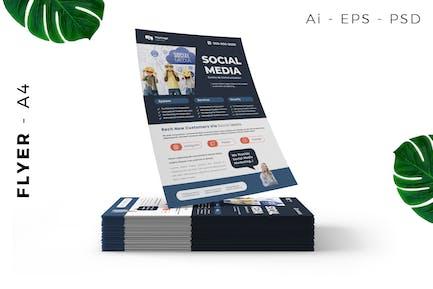 Social Media Agency Design