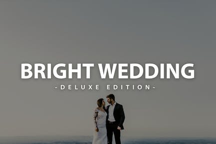 Bright Wedding | Deluxe Edition for Mobile and Des