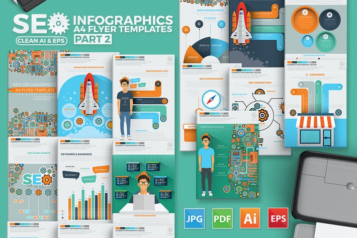 Thumbnail for SEO Infographic Design 2