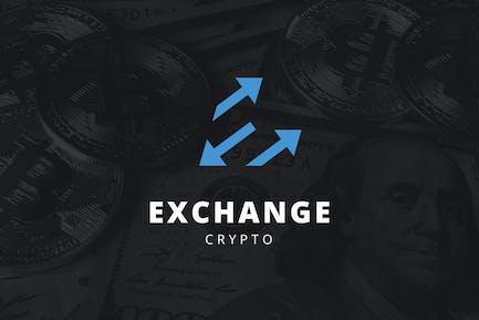 Exchange Crypto Logo - D