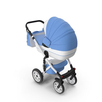 Kinderwagen Blau
