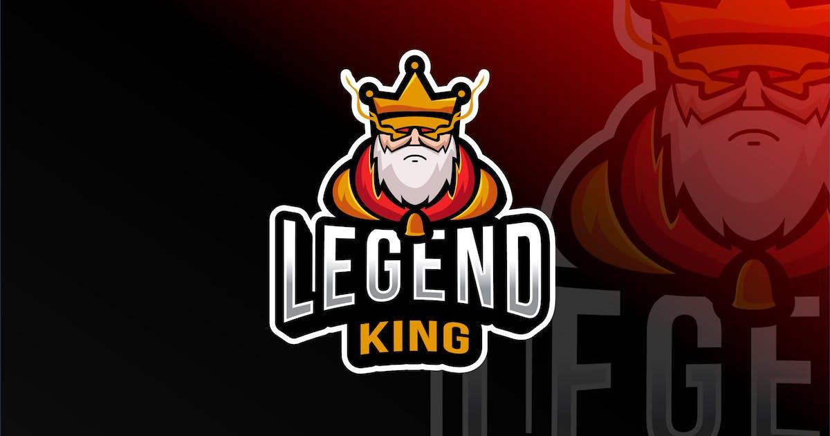 Download Legend King Esport Logo Template by IanMikraz