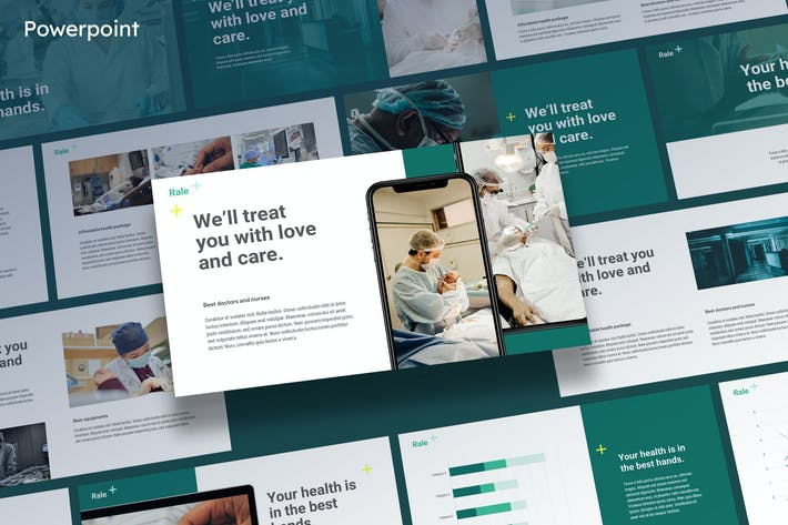 Cover Image For Rale - Medical Powerpoint Template