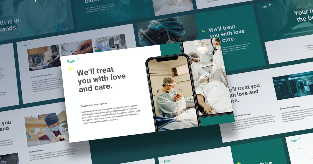 Download Rale - Medical Powerpoint Template by Slidehack