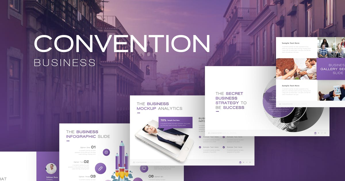 Download Convention Business Presentation by BrandEarth