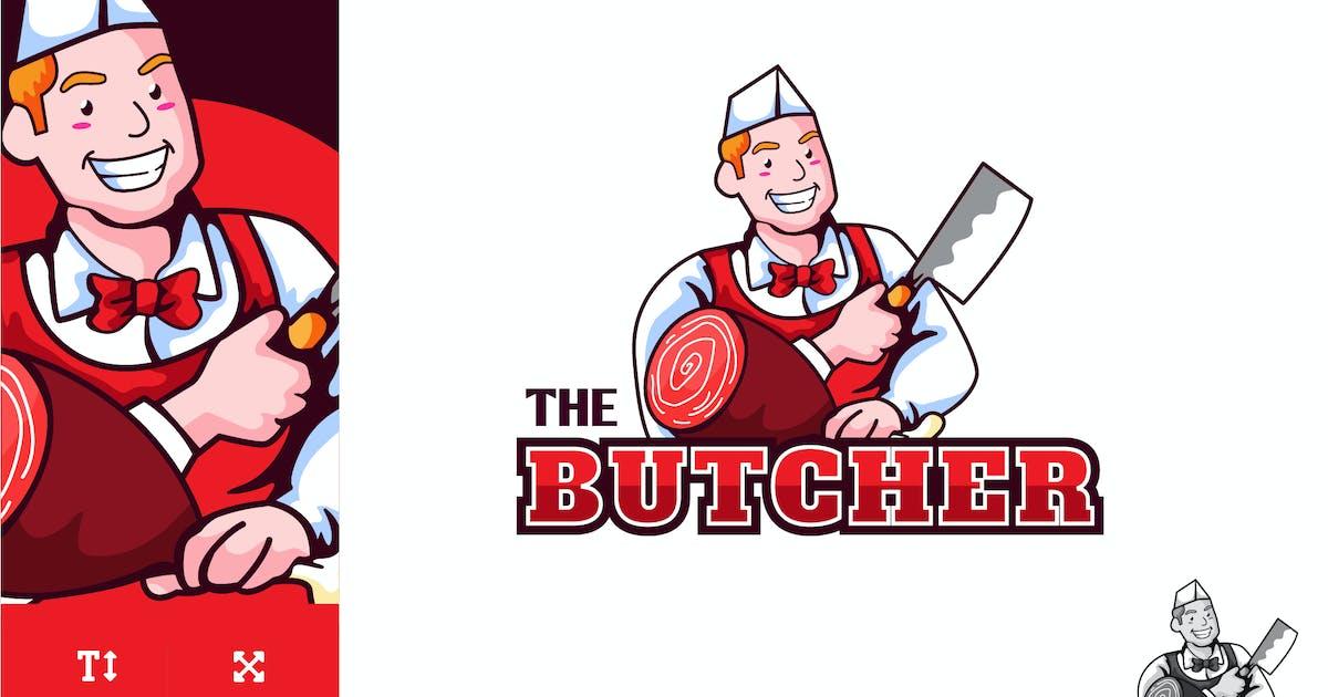Download Butcher Logo Illustration Vector by naulicrea