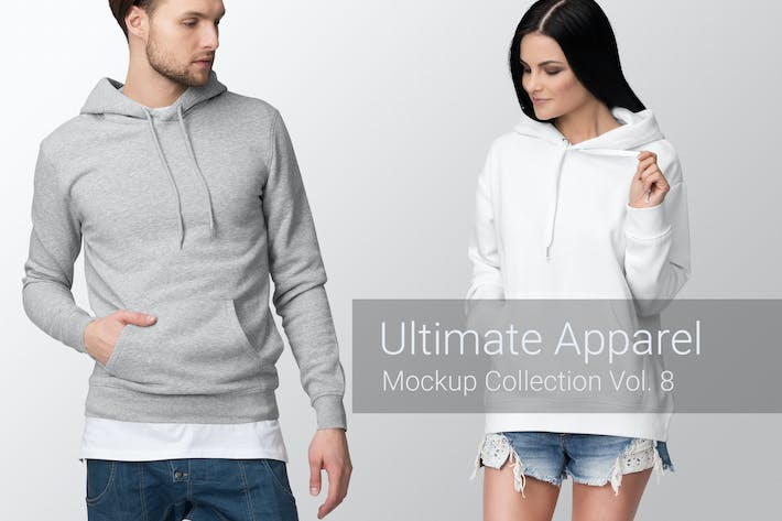 Thumbnail for Ultimate Apparel Mockup Vol. 8