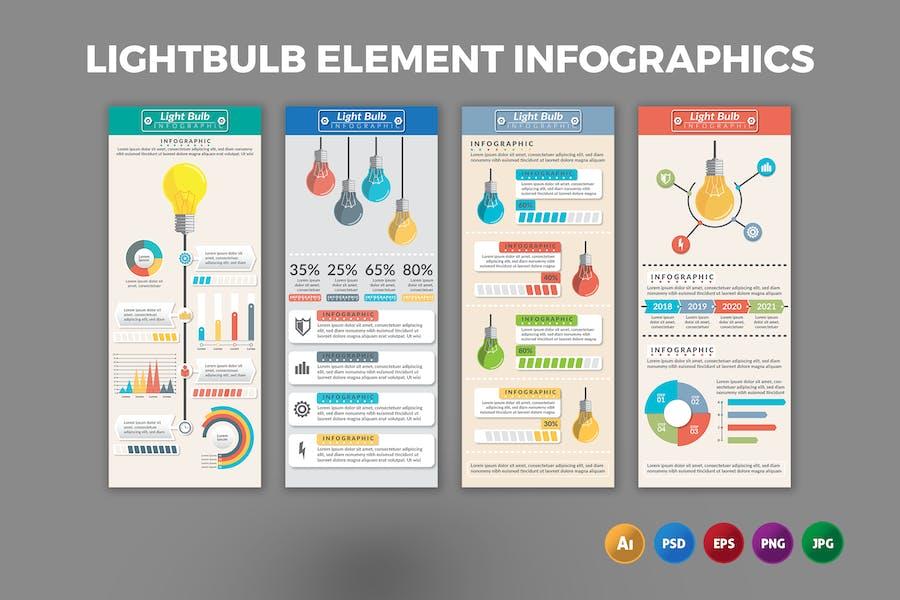 Lighbulb Element – Infographics Design
