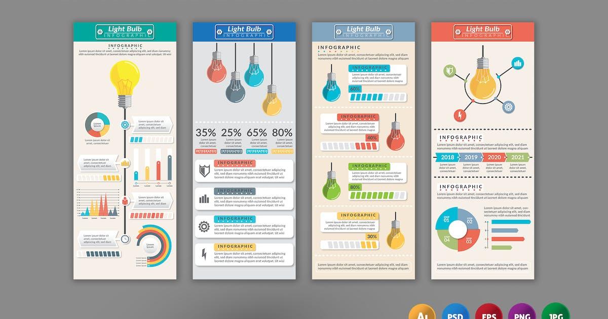 Download Lighbulb Element – Infographics Design by designesto