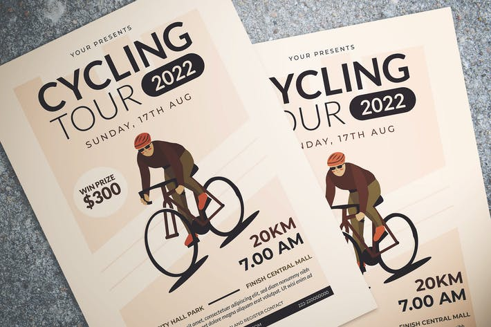 Thumbnail for Cycling Tour Flyer