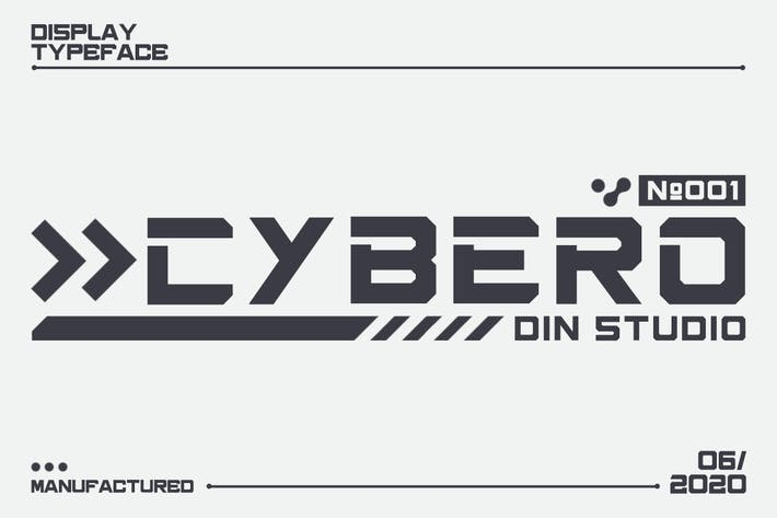 Thumbnail for Cybero - Authentic Display Font