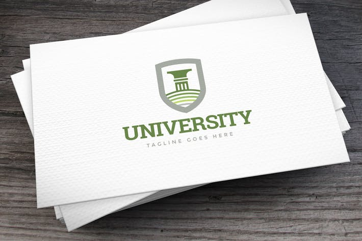 Cover Image For University Logo Template