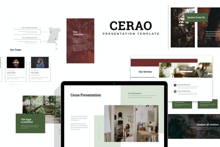 Thumbnail for Cerao : Home Decor Keynote