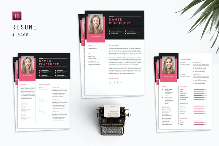 Thumbnail for Smile Account  Resume Designer