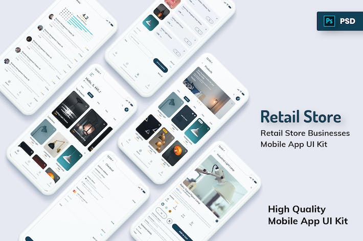 Thumbnail for Retail Store Mobile App Light Version