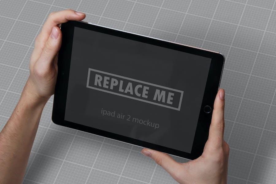 iPad Air Studio Mockups