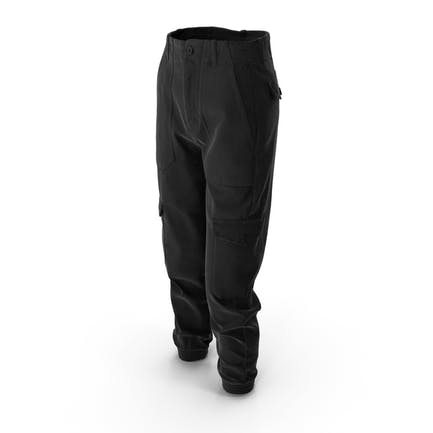 Damen Hosen Schwarz
