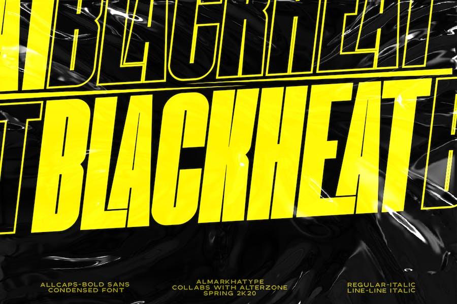 Blackheat - Bold Sans Condensed