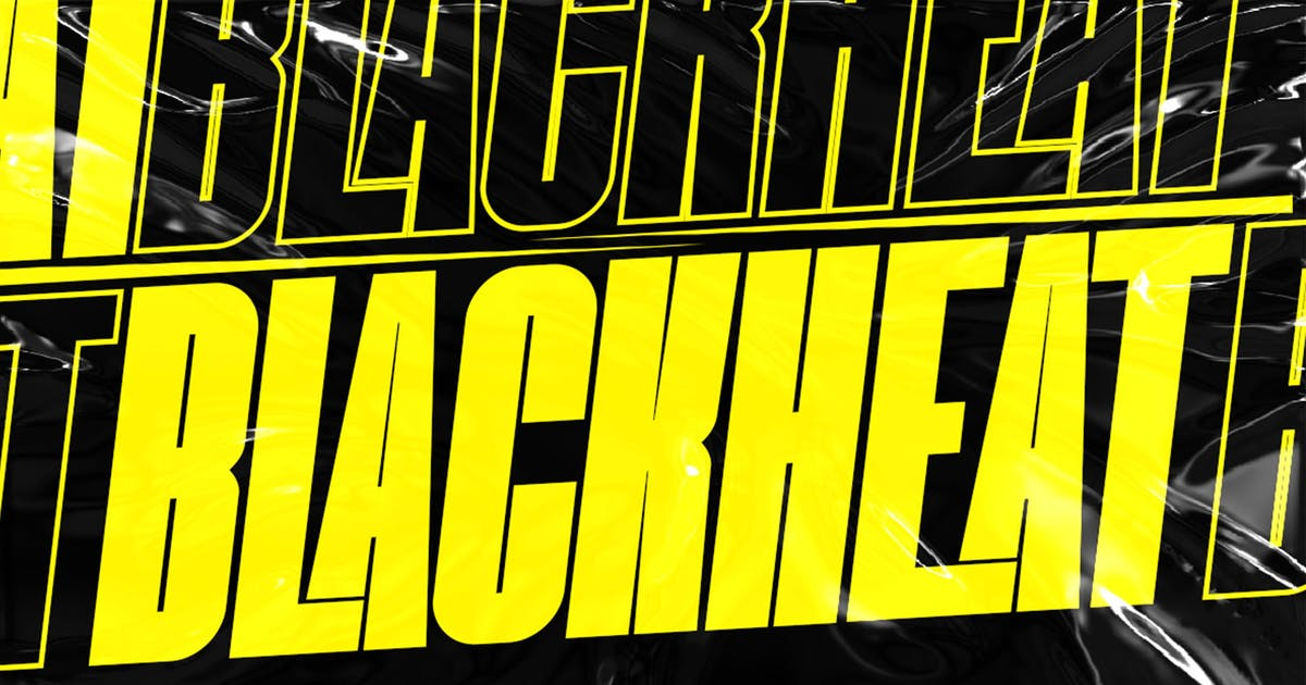 Download Blackheat - Bold Sans Condensed by Alterzone