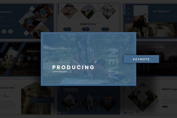 Thumbnail for Producing - Keynote Template