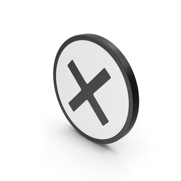 Значок X
