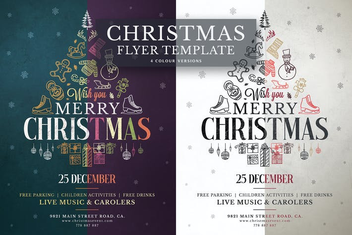 Cover Image For Christmas Flyer Template Vol.5