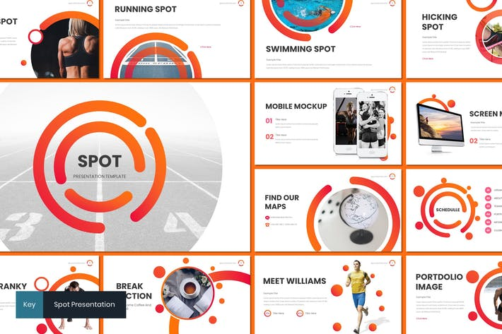 Spot - Спортивная Keynote Tempalte