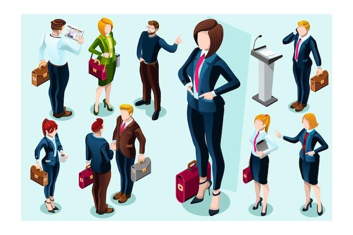 Thumbnail for Businesswoman Commercial Concept Store Salesperson