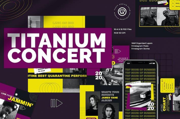 Thumbnail for Titanium Concert Insta Pack
