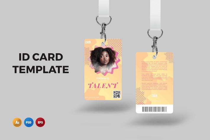 Sunkiss – ID Card Template
