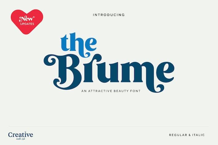 Thumbnail for Brume Font