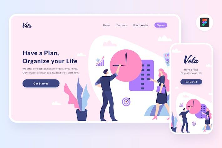 Thumbnail for Planning illustration (Figma, SVG)