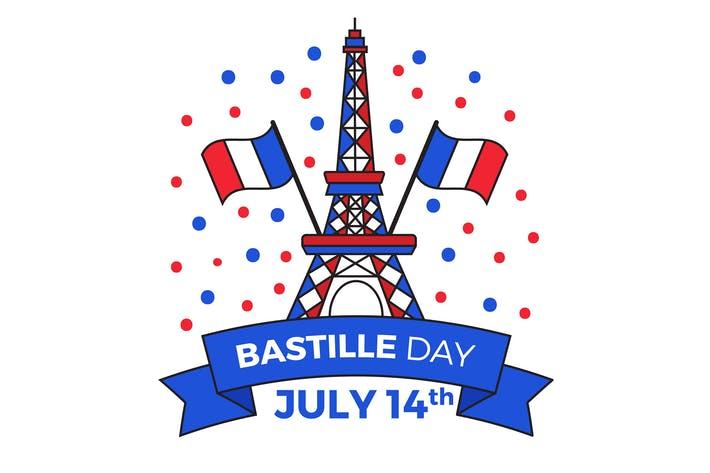 Thumbnail for Flat Bastille Day