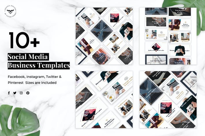 Thumbnail for Social Media Business Templates