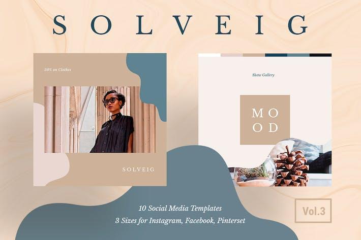 Cover Image For Solveig Social Media Pack Vol. 3