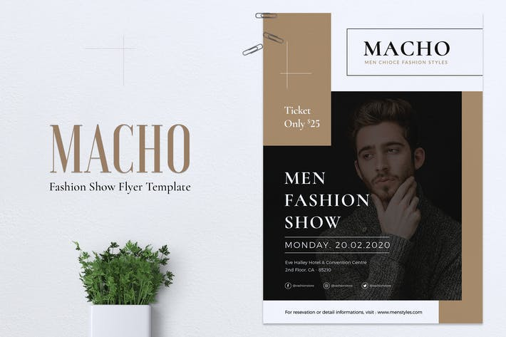 Thumbnail for MACHO Fashion Show Flyer